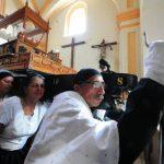 Hermandades de Sonsonate aún preservan las tradiciones con mucha solemnidad y respeto. foto edh / Mauricio Cáceres
