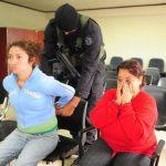 Resultados de pruebas ADN vinculan a las dos mujeres detenidas en asesinato de Helene Arias, dice la Fiscalía. Foto EDH