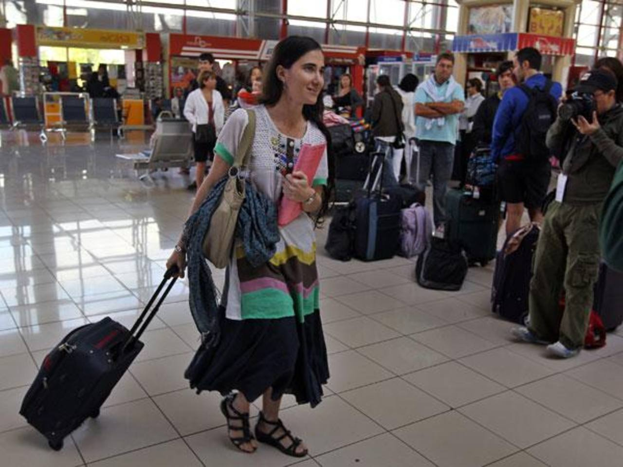 Todavía le quedan varias semanas a su gira, pero Yoani Sánchez ya anticipó su temor de que, una vez que retorne a la isla, ya no la dejen volver a salir. Foto edh /