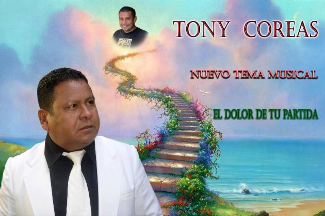 Una experiencia dolorosa hizo que Tony Coreas creara el tema que ya suena en las radios de corte tropical. Foto EDH / Cortesía