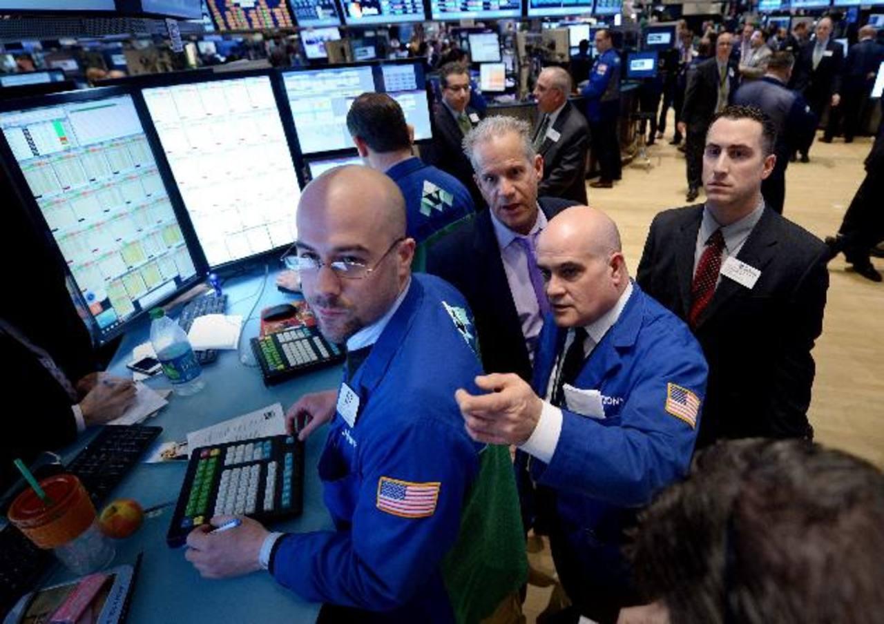 La bolsa de Nueva York está viviendo, esta semana, sus mejores días desde la crisis del 2009. foto edh/ efe