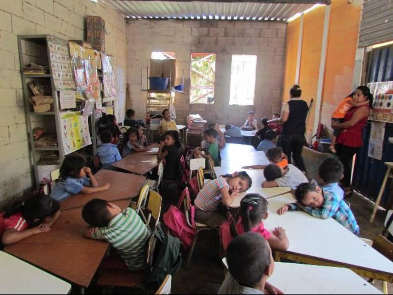 El sistema educativo necesita de más recursos para incrementar escolaridad promedio. foto edh /mauricio guevara