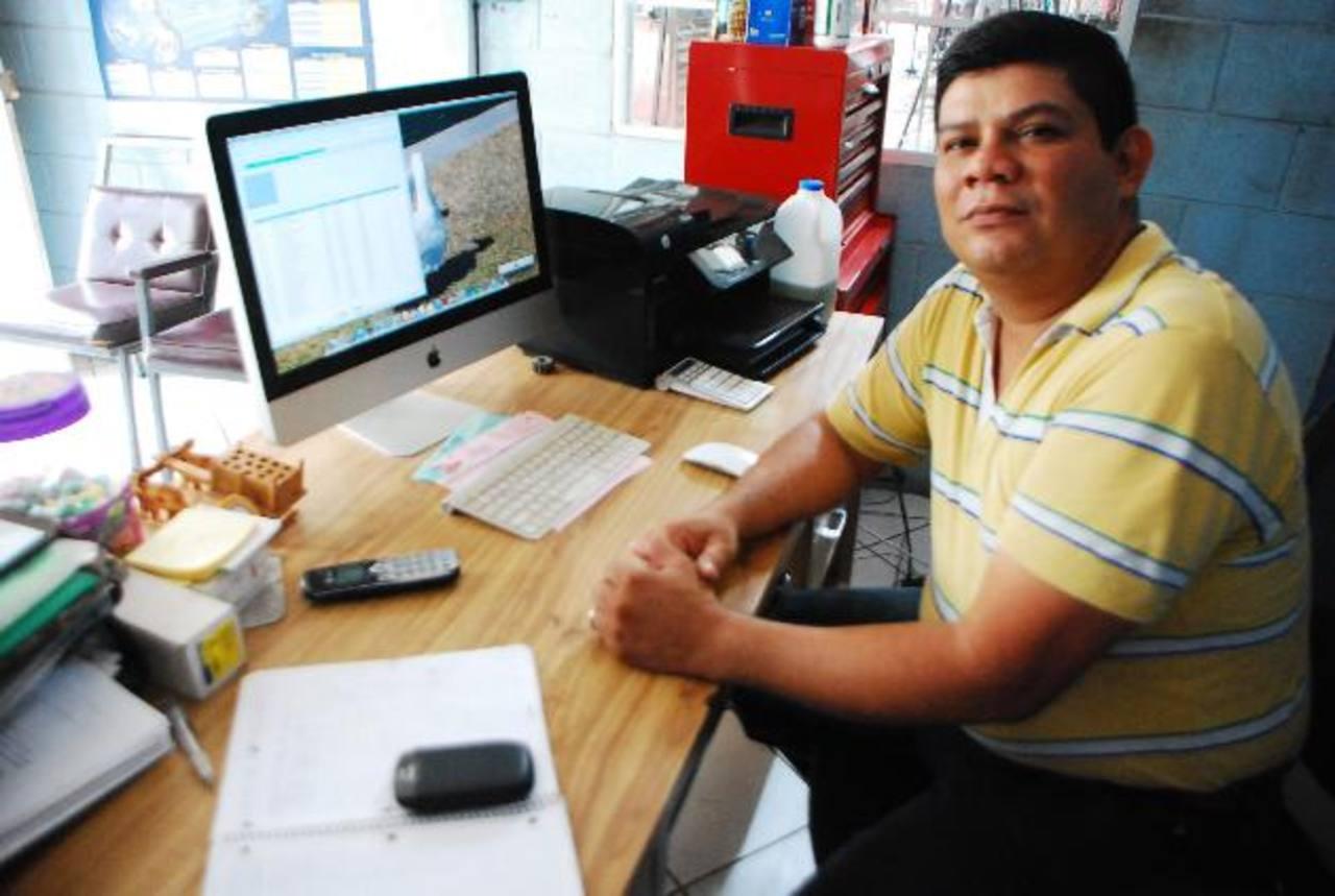 Erick Ortiz ingresó a la Asociación de Caballeros del Santo Entierro cuando apenas tenía 15 años. foto edh / JENNY VENTURA