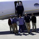 El miércoles anterior, Edwin Ernesto Rivera Gracias, quien se encontraba prófugo de las autoridades estadounidenses, fue llevado a ese país para que responda por un homicidio que se le imputa en Denver, Colorado. Foto EDH / archivoUn equipo de El Dia