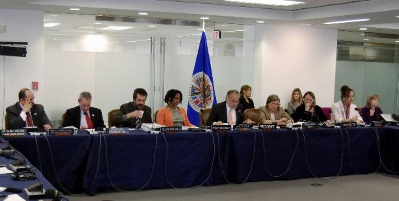 Los miembros de la CIDH externaron ayer su temor de que dicho ente pierda facultades. EDH / Tomás Guevara