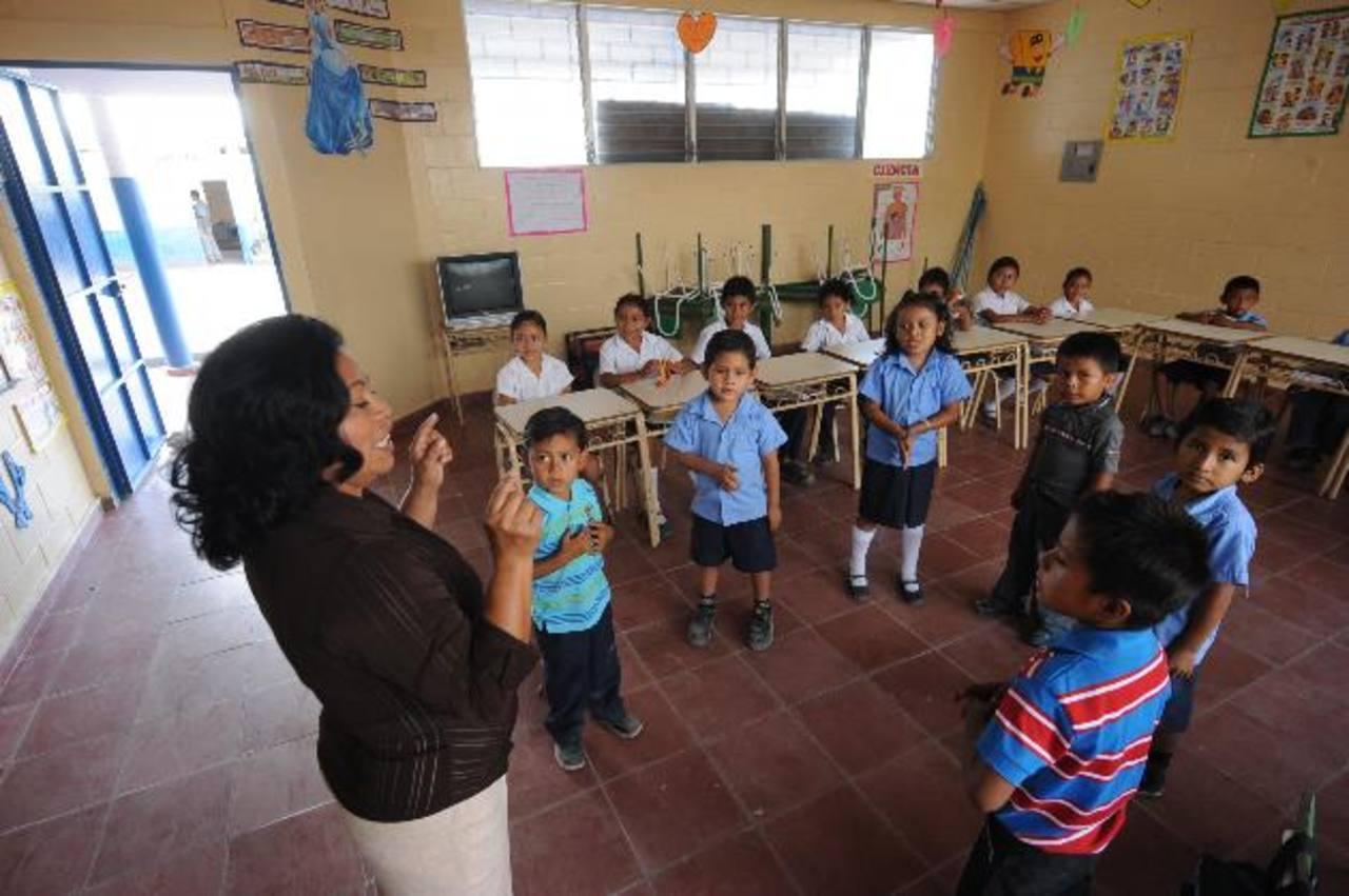 En el centro escolar caserío San Luis Córdova, de Panchimalco, no podrán desarrollar proyectos planificados para enseñar a los niños. Foto EDH / Archivo