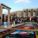 Salvadoreños en Virginia participan en Vía Crucis