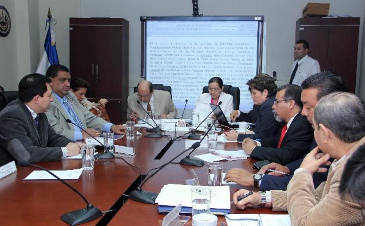 La comisión de Reformas Electorales de la Asamblea estudiará en los próximos días el nuevo Código Electoral.