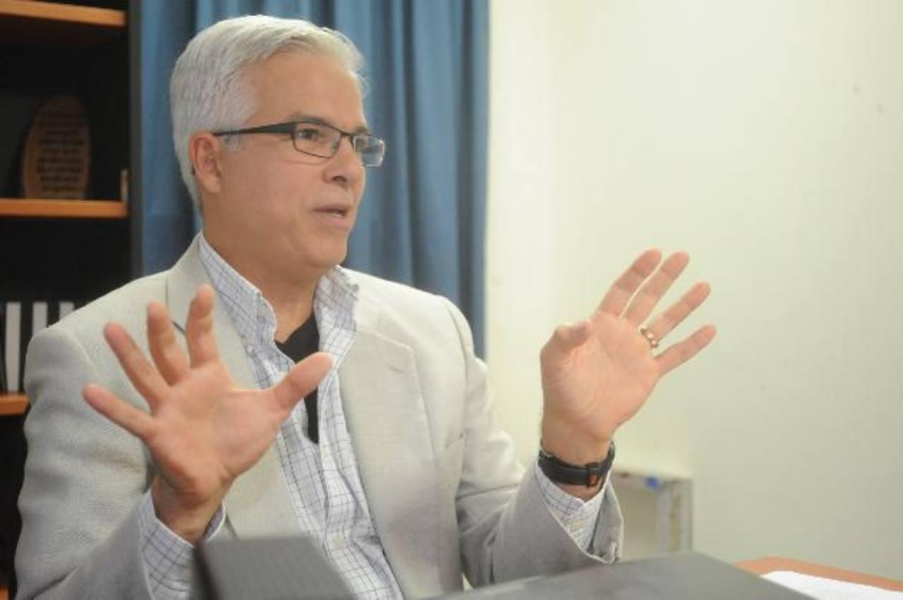 Rodrigo Bolaños, gerente general League. Edh / L. Monterrosa