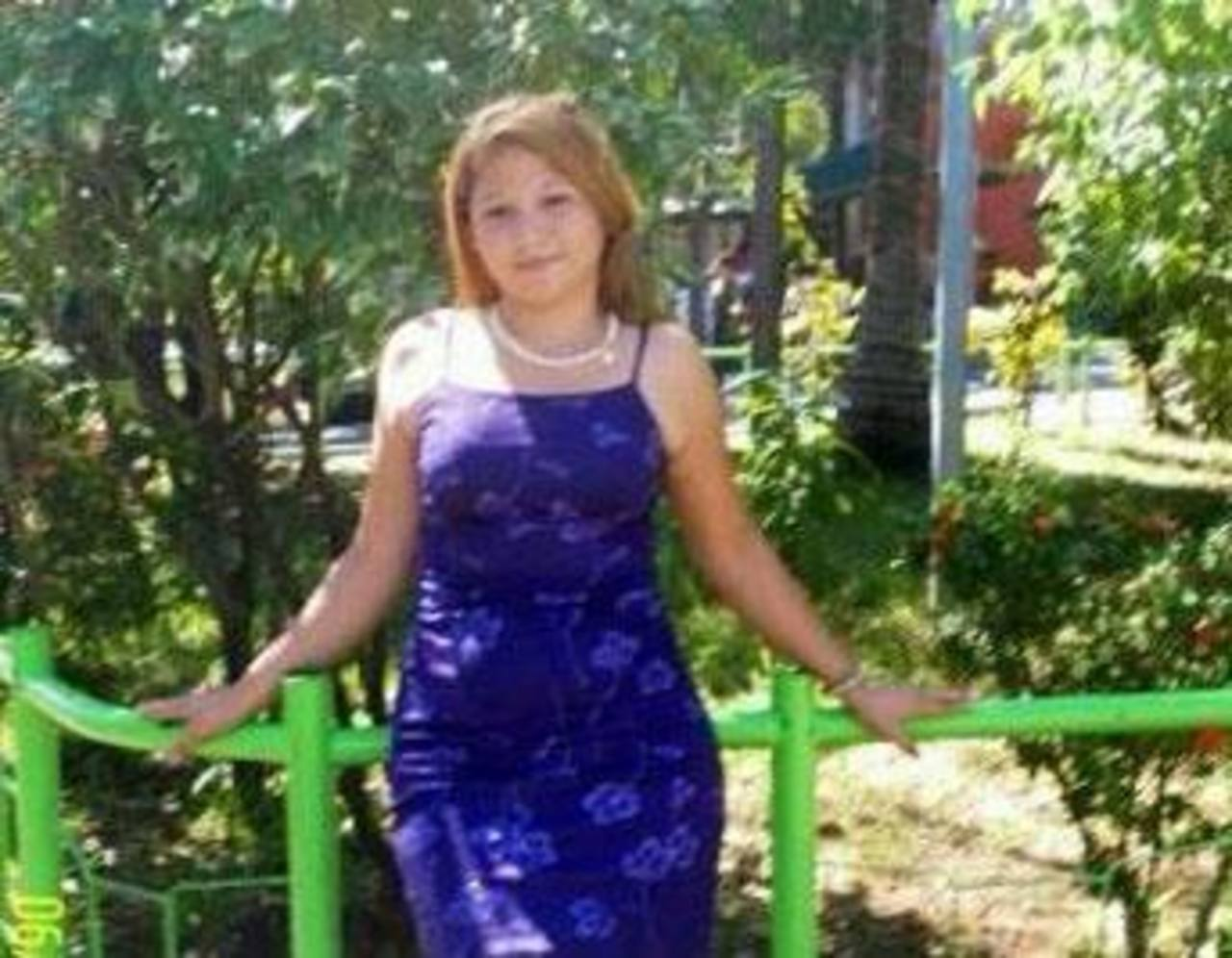 Dora Escobar Sorto, estudiante de Noveno Grado, apareció estrangulada en el cantón Loma Larga, La Unión. Foto EDH