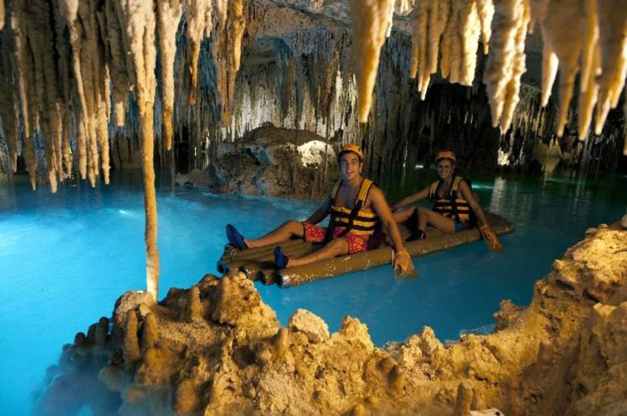"""En la foto parte del parque natural de diversiones """"Xplor"""", ubicado en la Rivera Maya, en Quintana Roo. Foto EDH/ archivo"""