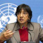 La Alta Comisionada de Naciones Unidas para Derechos Humanos (ACNUDH), Navi Pillay. foto edh / archivo