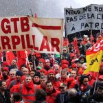 Miles de manifestantes pidieron a líderes europeos no más recortes del gasto. Foto EDH/ reuters