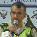 Jefe de la Policía antinarcóticos, Juan Carlos Barragán. FOTO METROECUADOR