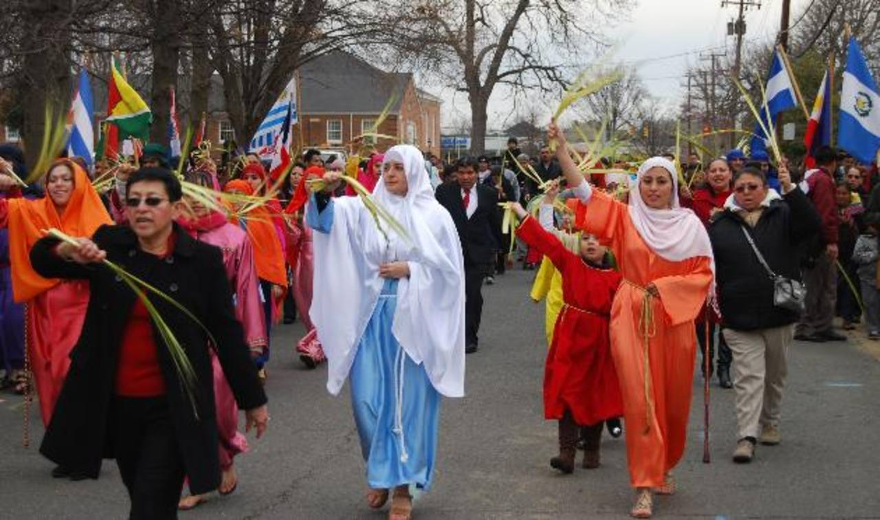 Fervor religioso por Semana Mayor se vive en Virginia