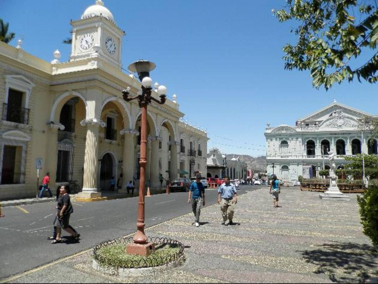 El centro histórico de la ciudad morena será el punto de referencia para monitorear hechos delictivos. Foto EDH / milton Jaco