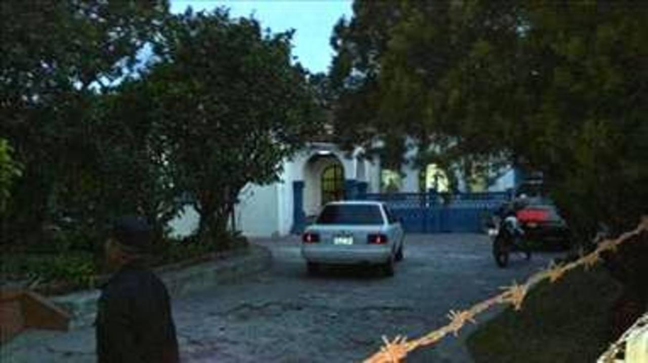 En este puesto de la PNC se cometió el asesinato del testigo. FOTO EDH Oscar Iraheta, vía Twitter.