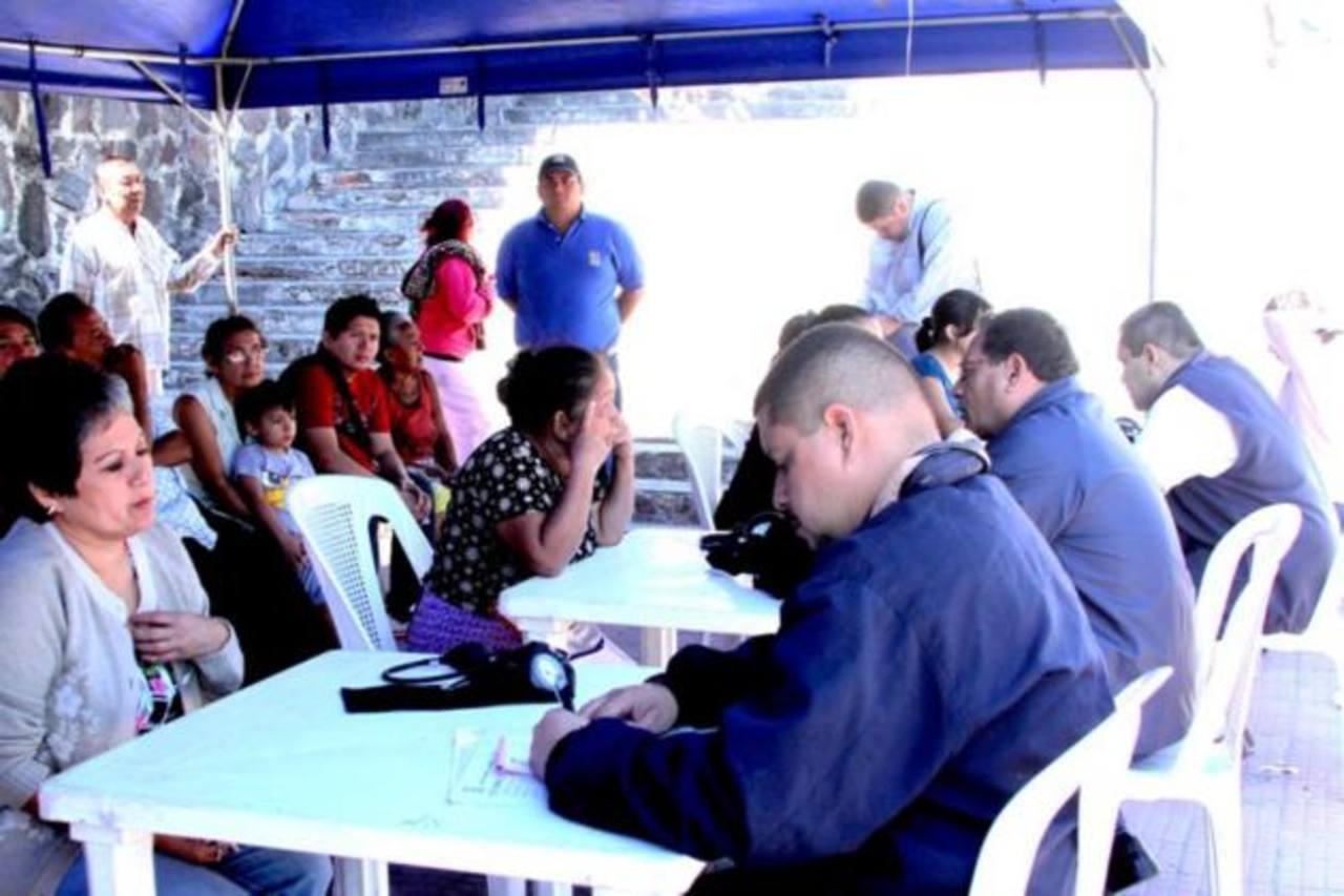 En la comunidad Amaya también se vieron favorecidos con esta jornada realizada por la comuna. foto edh / cortesía