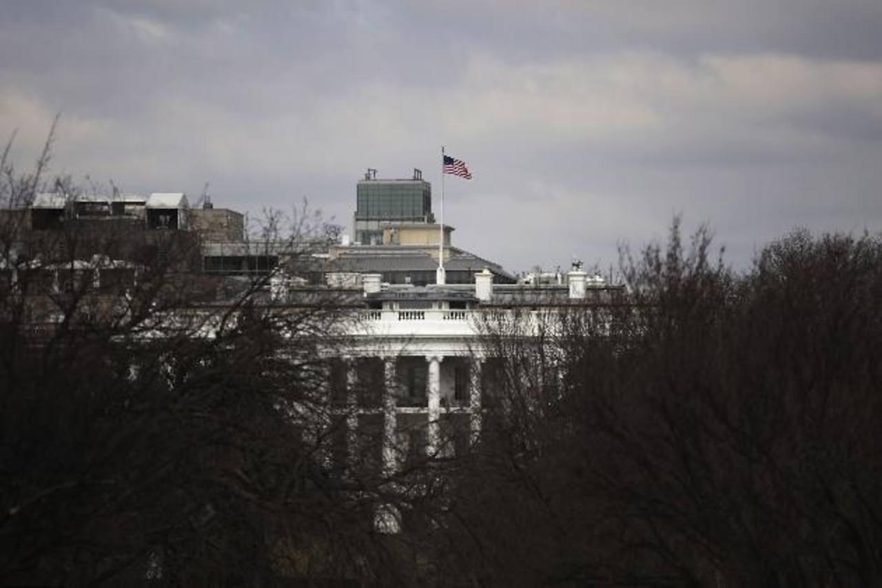Al fondo la Casa Blanca