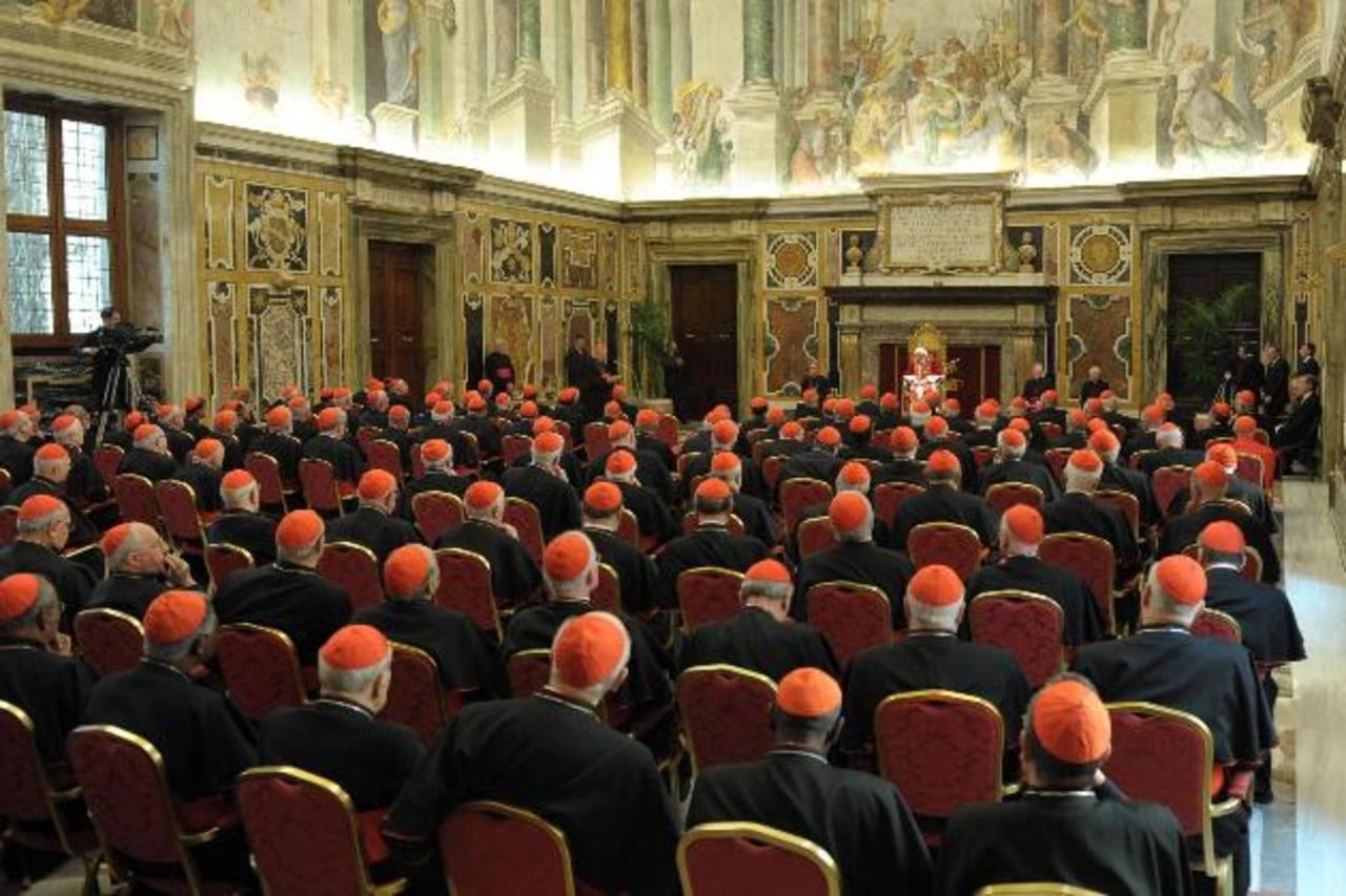 Benedicto XVI dejó ayer su papado. FOTO EDH XAgencias.