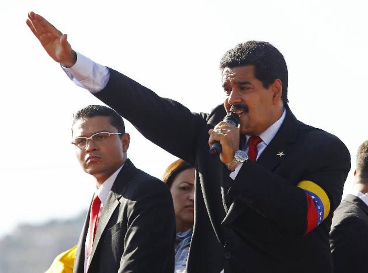 Maduro juramentará como presidente encargado