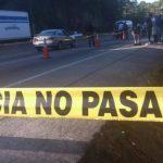 Zona donde fue encontrado muerto el estudiante, en la Troncal del Norte. Foto vía Twitter Mauricio Pineda