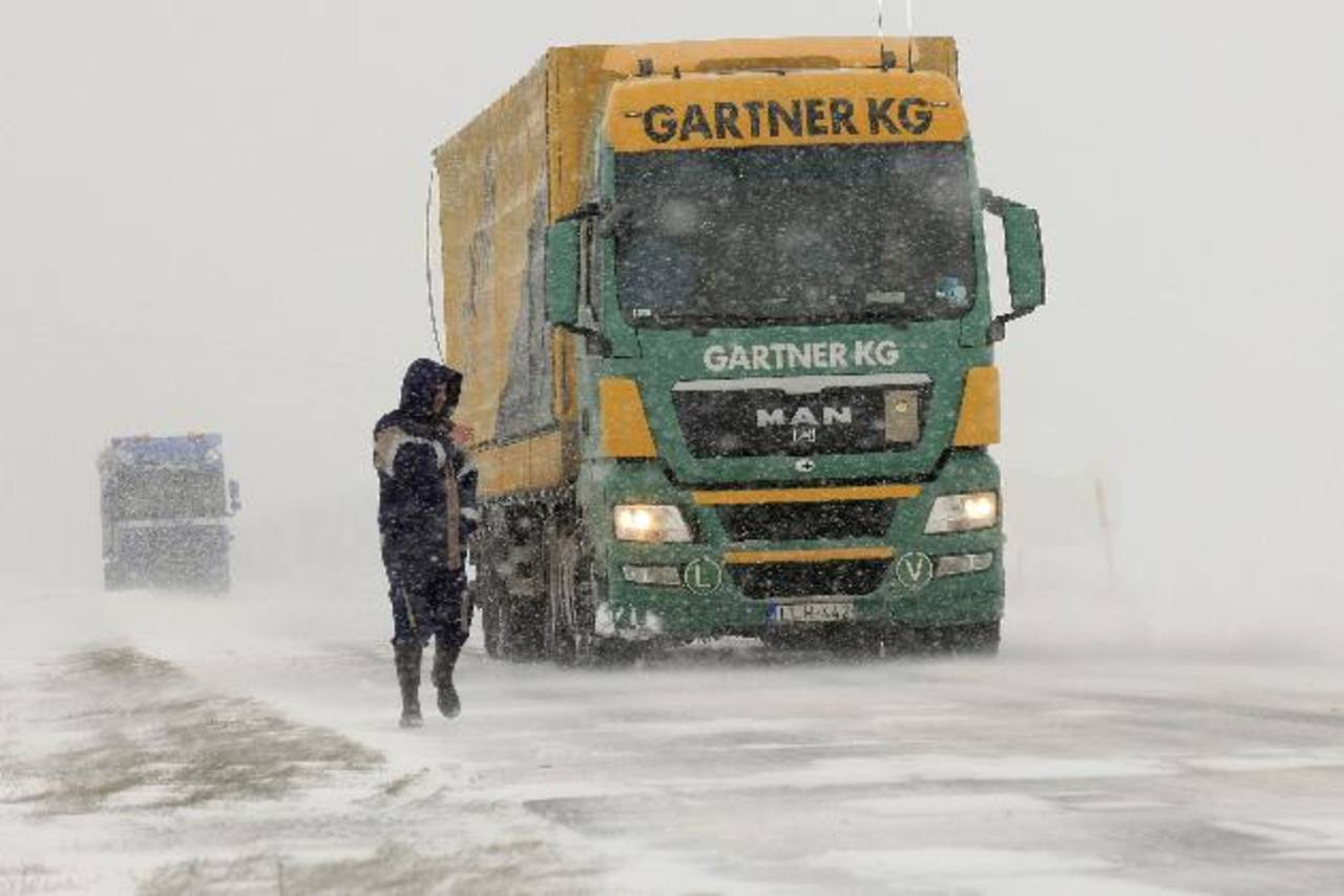 El transporte se vio afectado en el norte de Francia. Foto Reuters