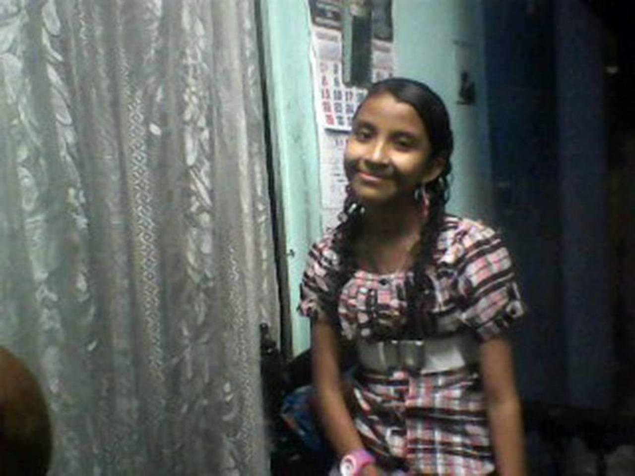 Sandra Gladys Alonso Chávez, de 13 años, desapareció desde el viernes en la tarde, según familiares. Foto EDH / Cortesía