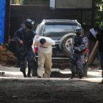 Cuatro acusados de traficar droga e intento de homicidio fueron enviados a prisión preventiva, en Apopa. Foto EDH / Archivo