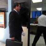 Luis Arévalo está acusado de haber golpeado a su exnovia.