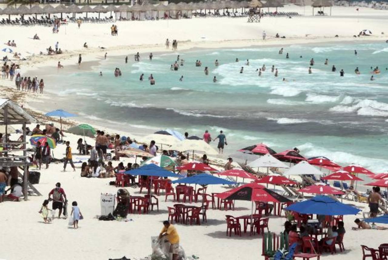 Cancún, México es un destino muy atractivo por los salvadoreños, las agencias de viaje lo están vendiendo con mayor facilidad que otros sitios de descanso. foto edh /archivo