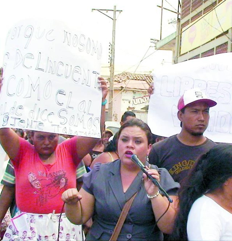 Vendedores protestan otra vez en Sonsonate