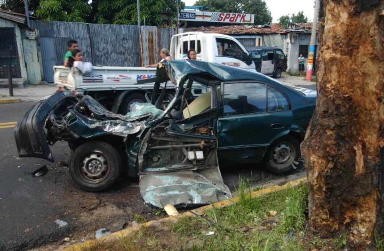 La mayoría de accidentes que ocurren en madrugada se debe al consumo de alcohol.