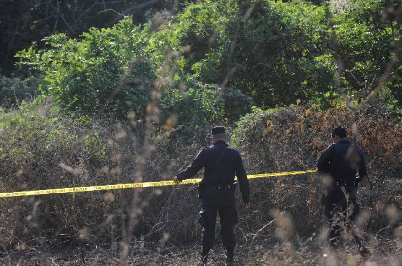foto edh / lissette lemusLa PNC presume que las víctimas son una madre y su hija, que están registradas como desaparecidas desde el martes.