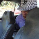 El sujeto fue detenido varios kilómetros después, carretera hacia el Aeropuerto Internacional de El Salvador.
