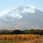 La zona boscosa del surponiente del volcán Chaparrastique es la más afectada. Foto EDH /Francisco TorresHoy activarán comisiones municipales de Protección Civil para usar recursos de cinco alcaldías. Foto EDH /Francisco Torres