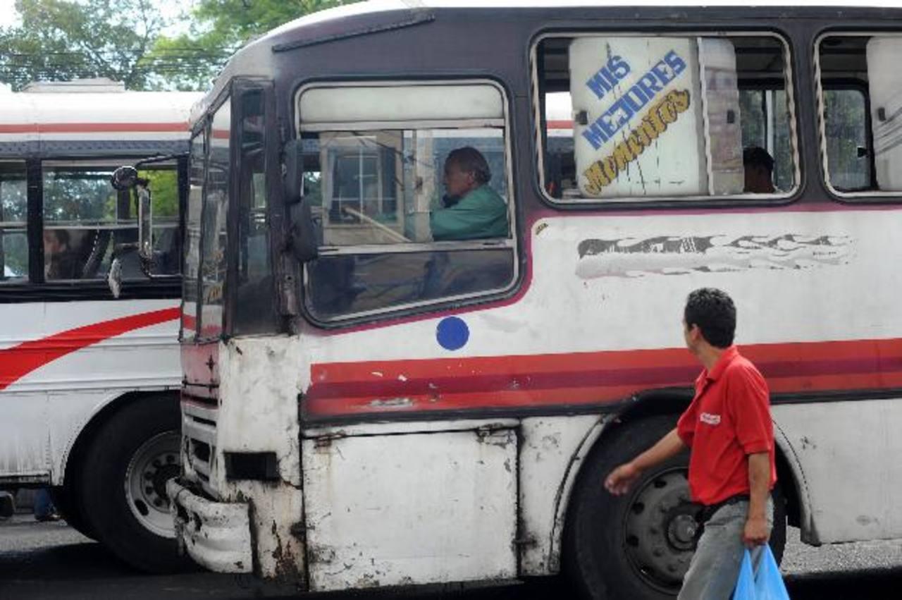 La mayoría de buses fueron elaborados en 2005.