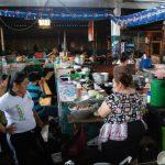 Los mercados migueleños carecen de todas las medidas recomendadas por bomberos para evitar incendios o apagarlos. Foto edh/ lucinda quintanilla