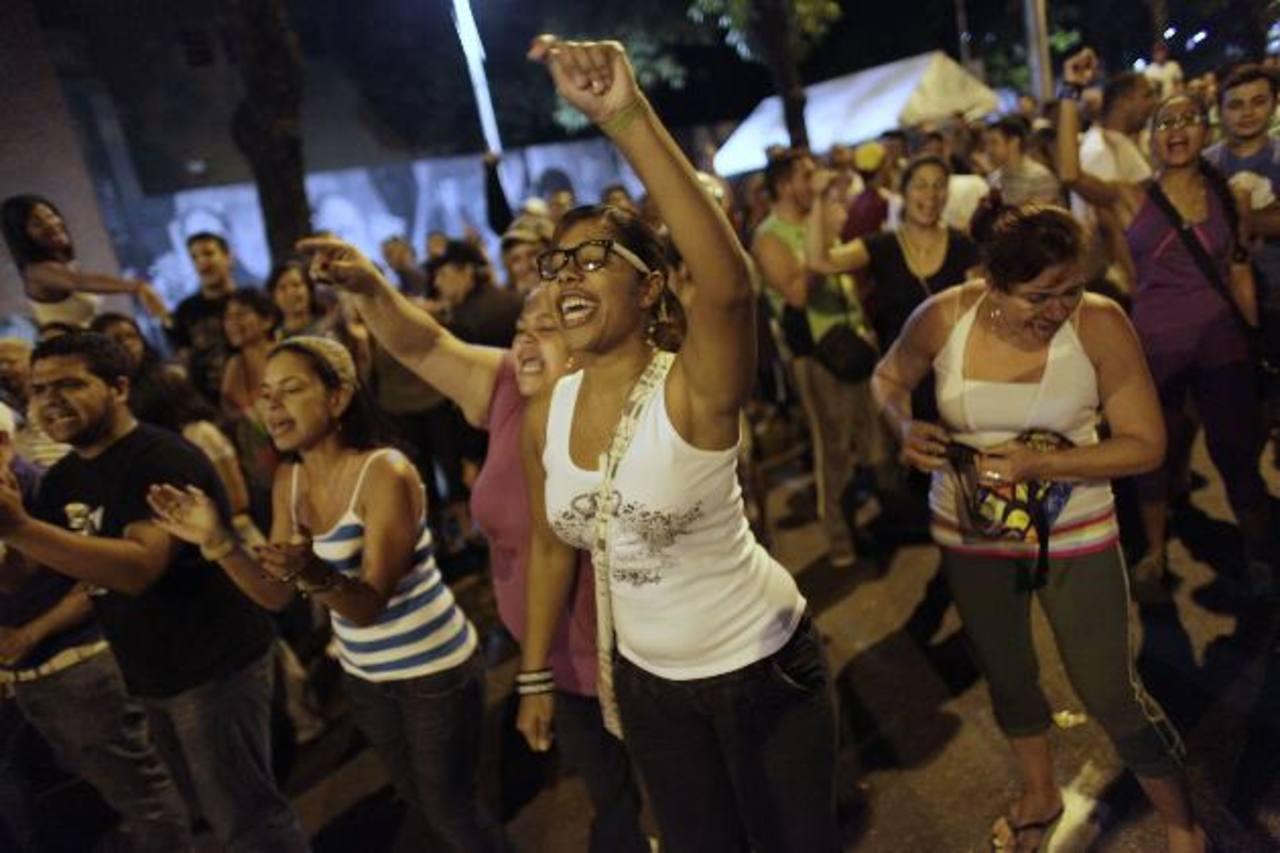 Los seguidores de ambos candidatos han salidos a las calles de Caracas, Venezuela. Foto/ AP