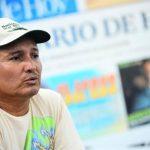 """Óscar Waldemar López, padre de Waldemar, pide ayuda a todos los salvadoreños: """"Realmente necesito de esa mano amiga. (...) Quiero tener ese millón de amigos para que mi hijo pueda brincar"""". Foto EDH / Mario Amaya"""