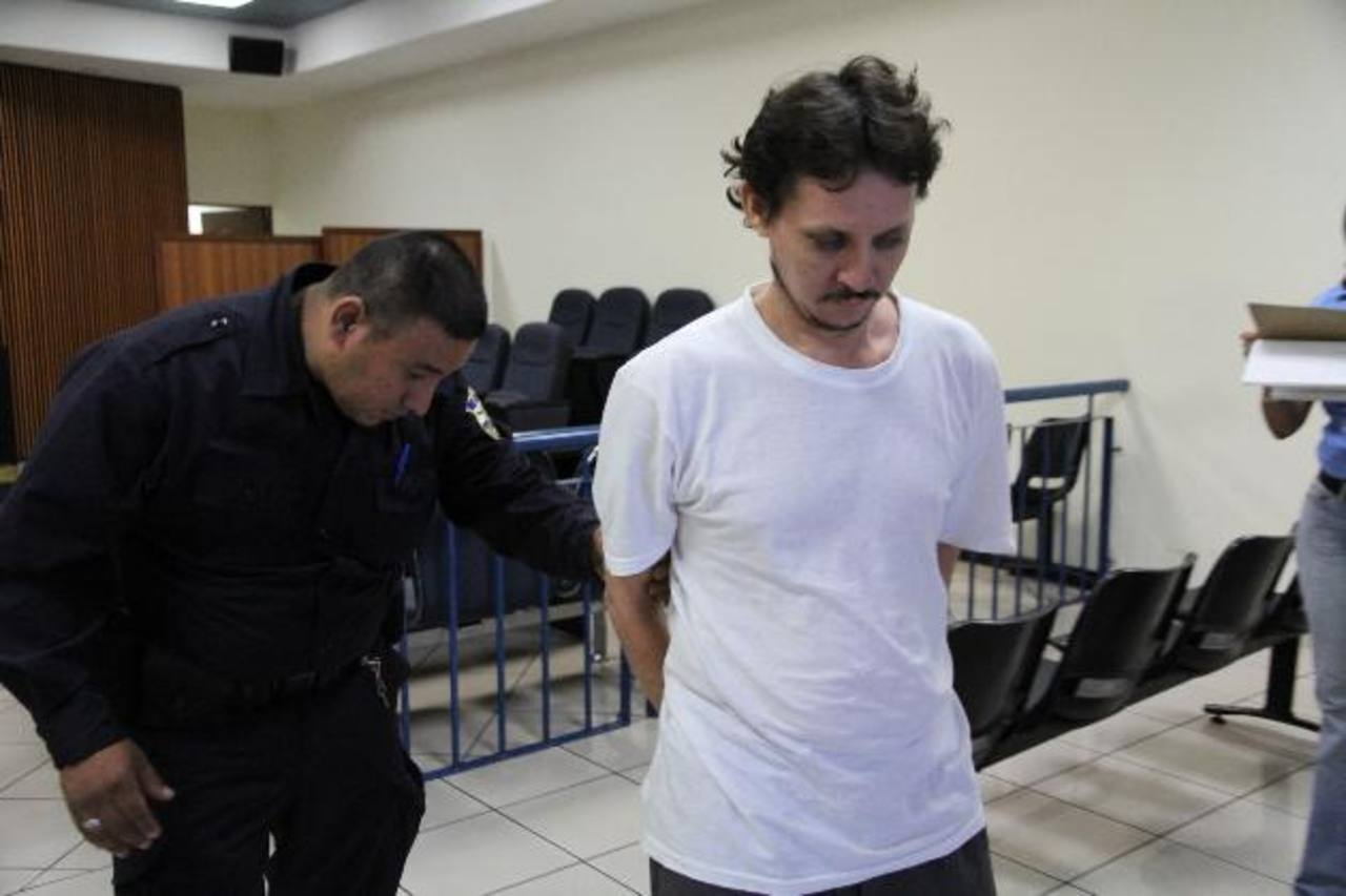 José Mauricio Huezo Ortega, condenado a 12 años de prisión por cada niñas abusada. Foto EDH / Cortesía Juzgados S.S.