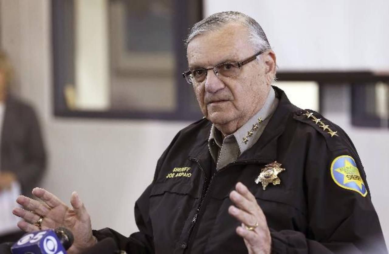 Jefe de policía de Maricopa, Arizona, Joe Arpaio.