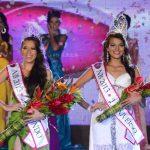Alba Delgado y Paola Ayala se mostraron emocionadas al ser coronadas como las mujeres más bellas. fotos EDH / Marvin Recinos