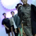 La asimetría y confección del diseñador Kique Escalante. FOTOs EDH / Mavin Recinos