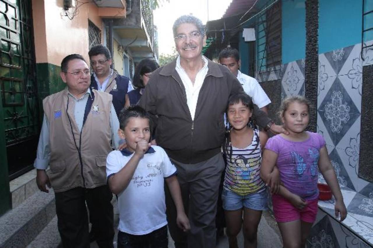 El edil y candidato presidencial, Norman Quijano, ha retomado de lleno la labor al frente de la comuna capitalina. Foto EDH