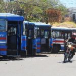A las unidades agremiabas a Acopatt se les podría suspender el permiso de línea de manera definitiva. Foto EDH / ARCHIVO