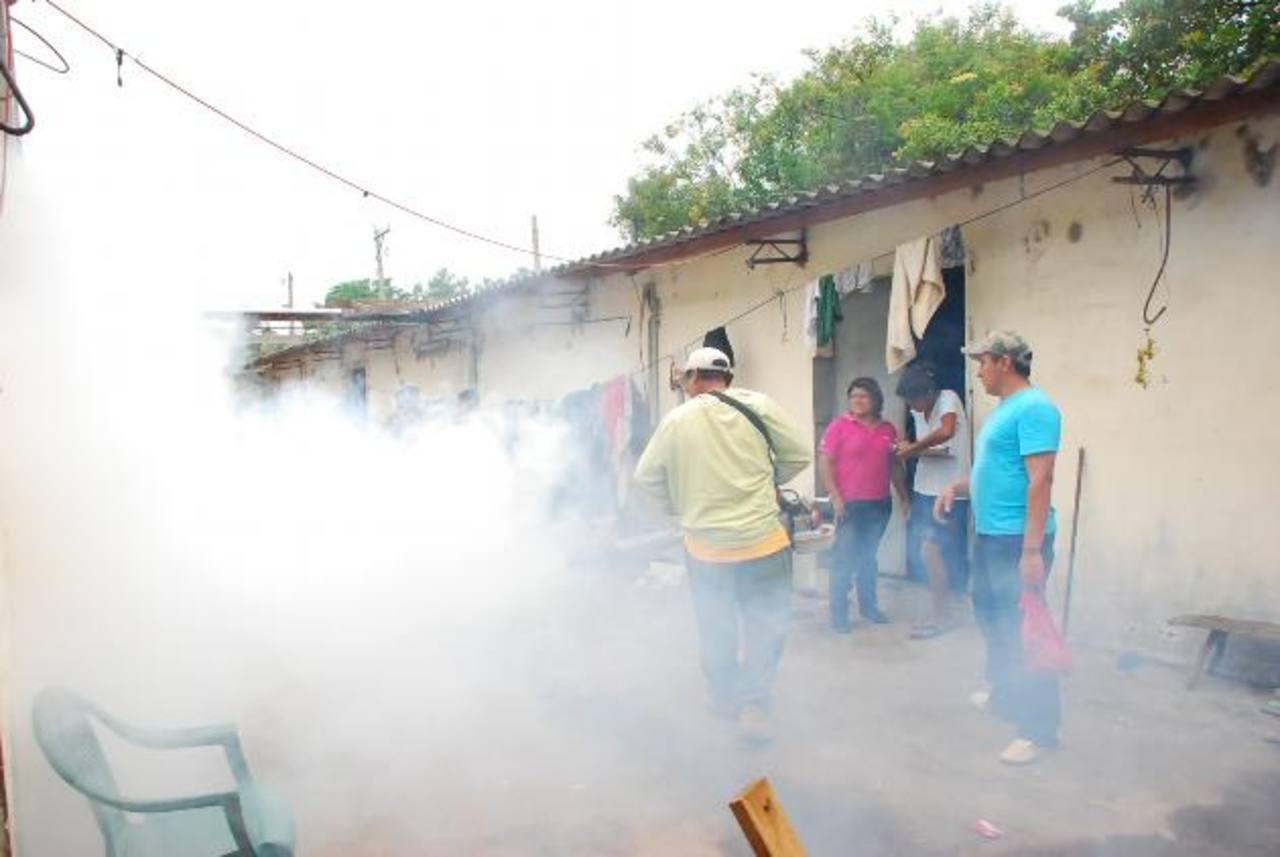La zona costera de Conchagua fue incluida en la campaña de fumigación y abatización de Salud. Foto EDH / insy mendoza