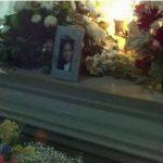 Servicios fúnebres para Ana Elizabeth.