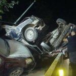 Más de diez lesionados deja accidente en Los Chorros