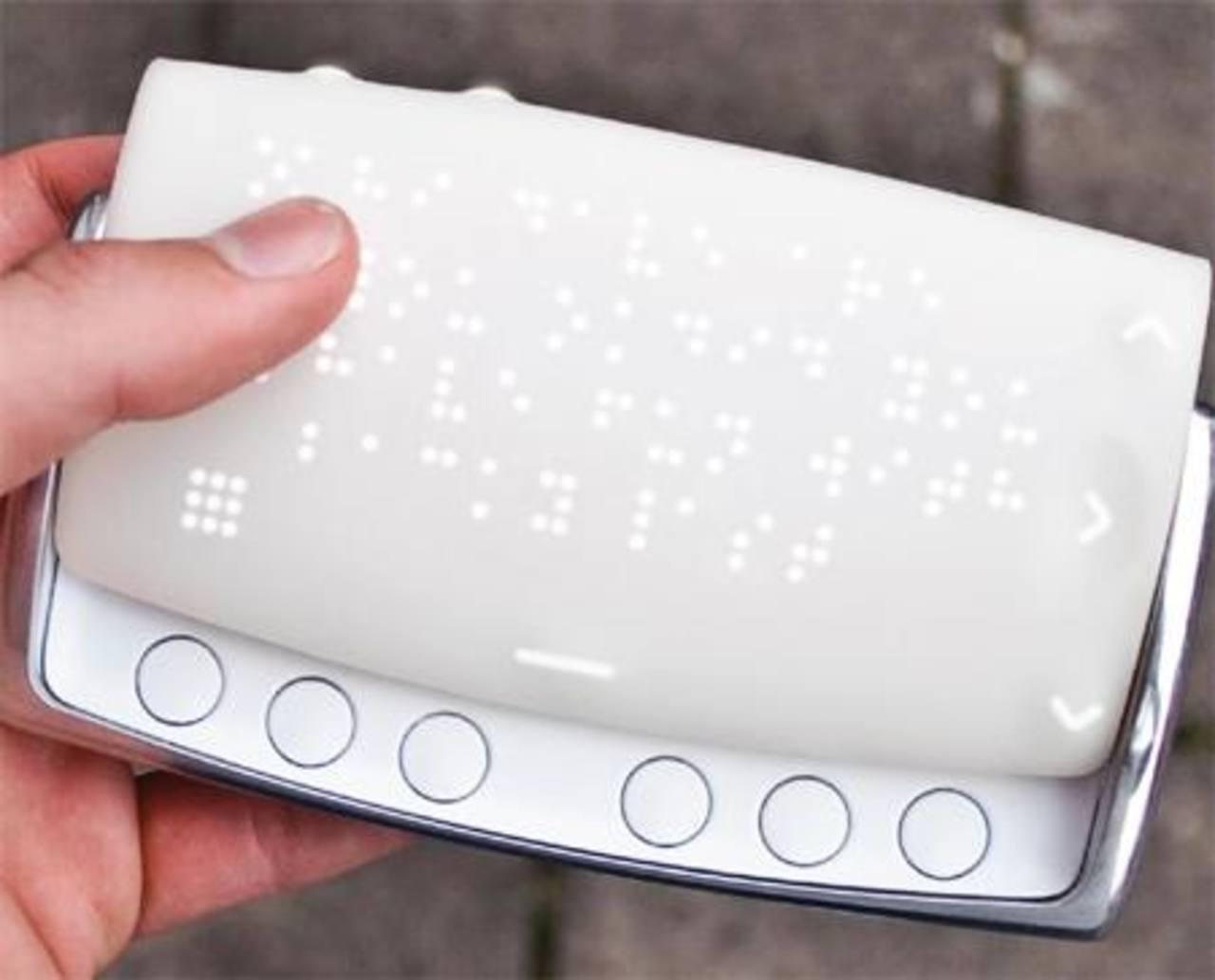 Braille Phone, primer teléfono inteligente para invidentes